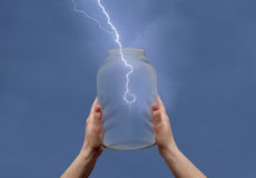 Énergie et idée Photos libres de droits