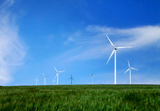 Énergie et nature Photographie stock