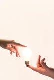 Énergie humaine Image libre de droits
