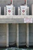 Énergie hydroélectrique photos libres de droits