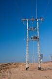 Énergie - lignes électriques Photographie stock libre de droits