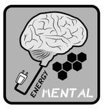 Énergie mentale Photos libres de droits