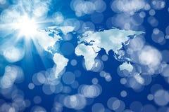 Énergie mondiale Image libre de droits