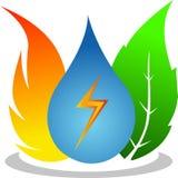 Énergie normale illustration libre de droits