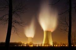 Énergie nucléaire quatre Image libre de droits