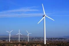 Énergie propre de vent Image libre de droits