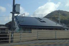 Énergie propre japonaise Image libre de droits