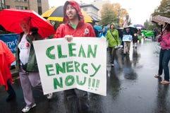 Énergie propre maintenant photographie stock libre de droits