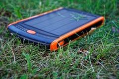 Énergie pure de générateur solaire de courant électrique, concept d'affaires photo libre de droits