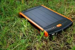 Énergie pure de générateur solaire de courant électrique, concept d'affaires images libres de droits