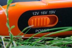 Énergie pure de générateur solaire de courant électrique, concept d'affaires image stock