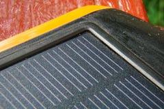 Énergie pure de générateur solaire de courant électrique, concept d'affaires photos stock
