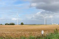 Énergie renouvelable photographie stock