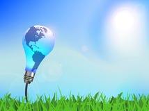 Énergie renouvelable Illustration de Vecteur