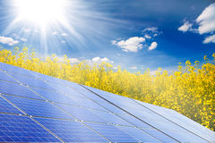 Énergie renouvelable images stock