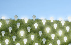 Énergie renouvelable illustration libre de droits