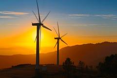 Énergie renouvelable photographie stock libre de droits