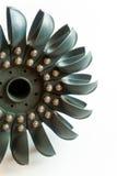 Énergie renouvelable de turbine de l'eau de Pelton Image libre de droits