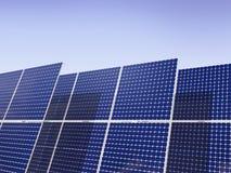 Énergie renouvelable - panneaux solaires Photographie stock