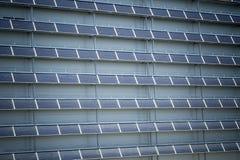 Énergie renouvelable - panneaux solaires Photos libres de droits