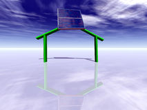 énergie solaire Stock Image