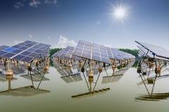Énergie solaire Photo libre de droits