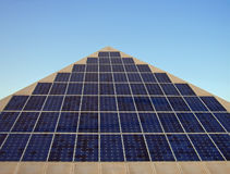 Énergie solaire photographie stock