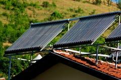 énergie solaire Photographie stock libre de droits