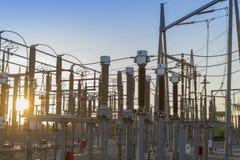Énergie solaire et électrique Image stock