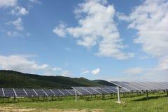 Énergie solaire, panneaux solaires, énergies renouvelables Photos libres de droits