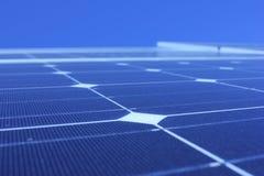Énergie solaire, panneaux solaires, énergies renouvelables, modules de picovolte Photo libre de droits