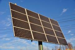 Énergie solaire renouvelable images libres de droits