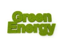Énergie verte Photo stock