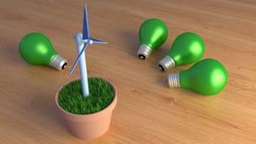 Énergie verte Photo libre de droits