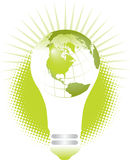 Énergie verte   Image libre de droits