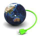 Énergie verte (Australie/Japon) illustration de vecteur