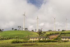 Énergie verte dans Nuwara Elyia Sri Lanka Image libre de droits