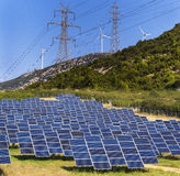Énergie verte renouvelable Photo stock