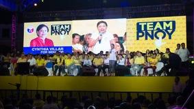 Énergies-hors fonction sénatoriales philippines d'élection Photo libre de droits