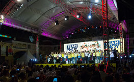 Énergies-hors fonction sénatoriales philippines d'élection Photos libres de droits