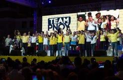Énergies-hors fonction sénatoriales philippines d'élection Images libres de droits