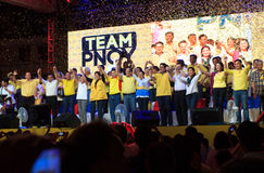Énergies-hors fonction sénatoriales philippines d'élection Photographie stock