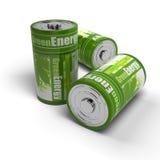 Énergies renouvelables - eco vert amical illustration de vecteur