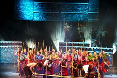 Énigme tibétaine images stock