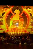 Énigme tibétaine images libres de droits