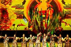 Énigme tibétaine photo stock