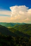 Énorme nuage. Image libre de droits