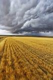 Énorme nuage noir Photos libres de droits