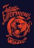 Énorme ours gris Photographie stock libre de droits