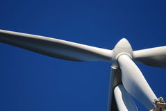 Éolien avec l'ingénieur Image libre de droits